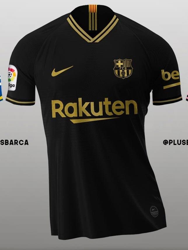 Chyornaya Detskaya Forma Barselony 2021 Kupit Atributiku Barselona