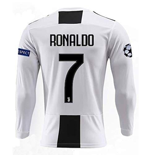 футболка роналдо длинный рукав