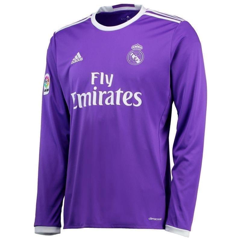 футболка реал мадрид фиолетовая