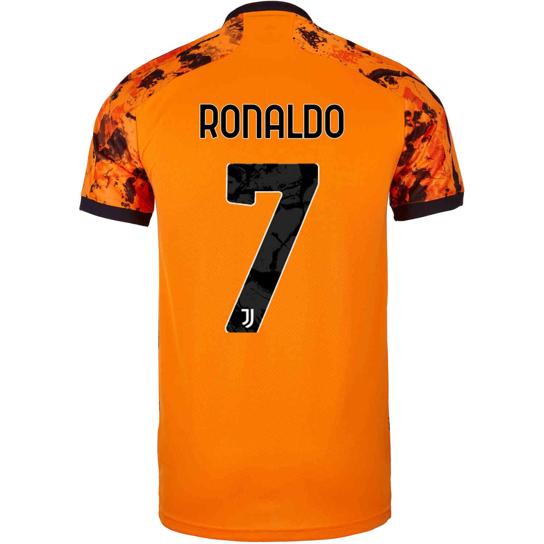 оранжевая футболка роналдо