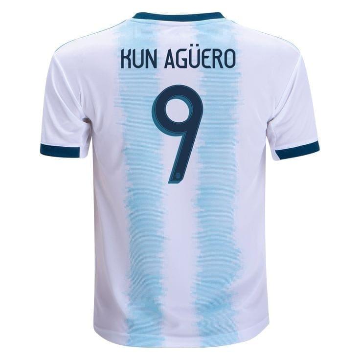Футбольная форма Агуэро сборная Аргентины