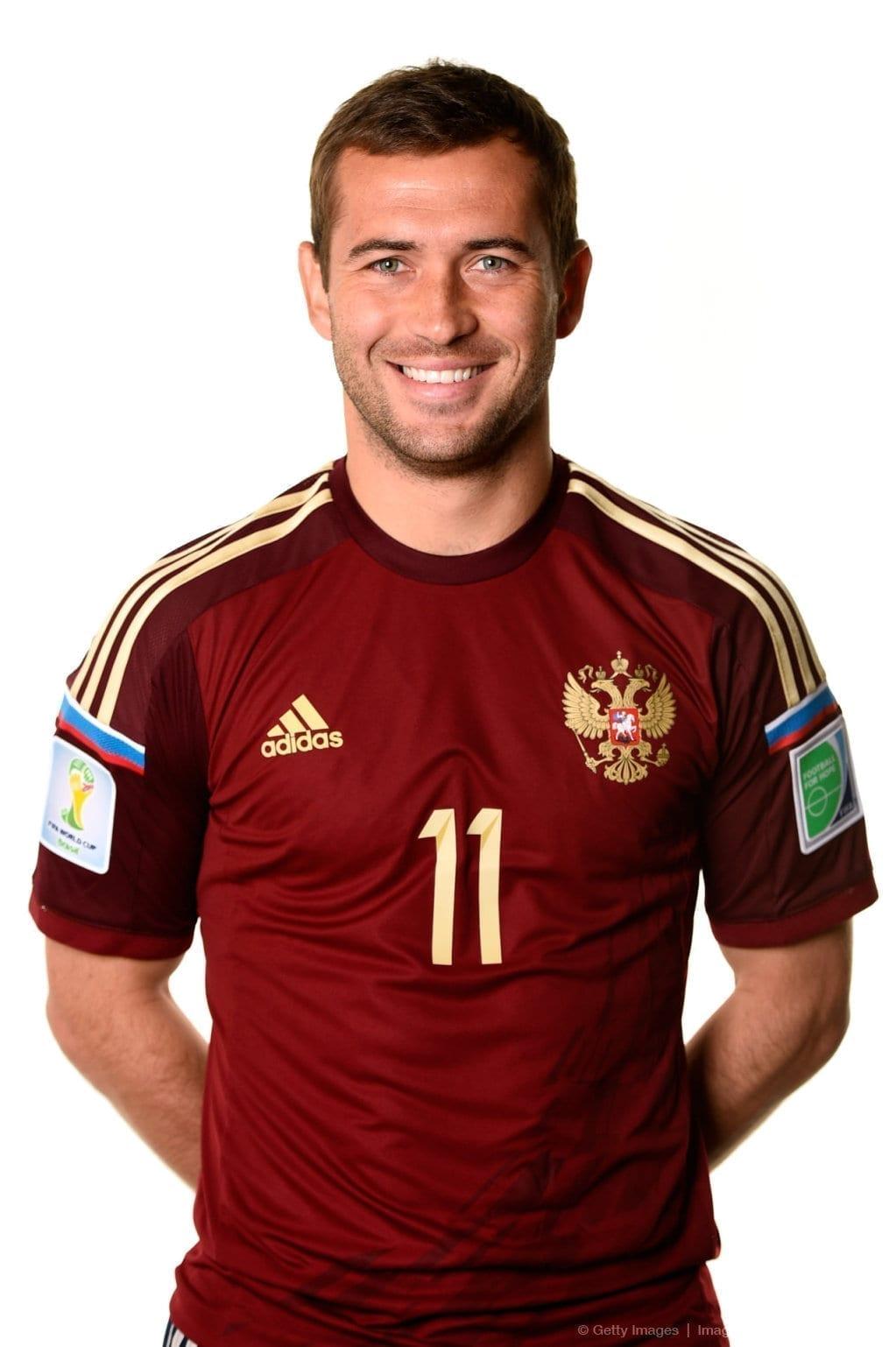 Футбольная форма Александр Кержаков сборная России
