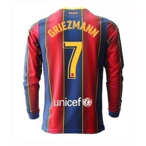 Футболка Гризманн 7 Барселона 2020-2021 длинный рукав
