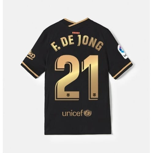 Гостевая футболка Барселона 2021 Френки Де Йонг