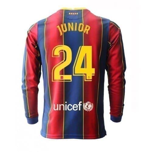Футболка Джуниор Фирло 24 Барселона 2020-2021 длинный рукав