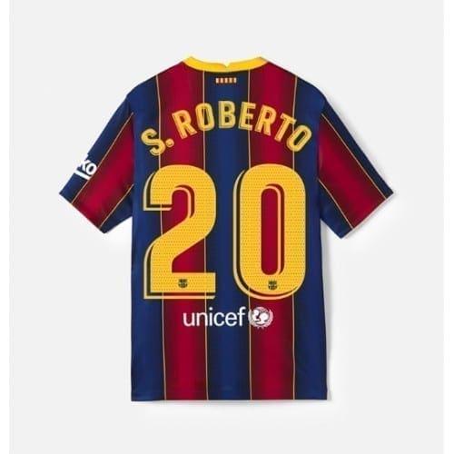 Футболка Серхио Роберто 20 Барселона 20/21