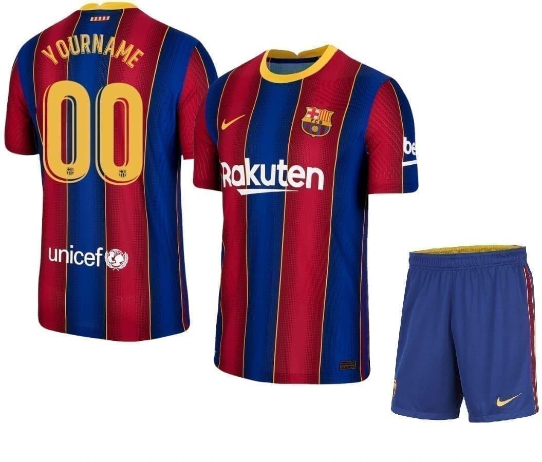 Комплект формы Барселона 2020-2021 с нанесением имени и номера