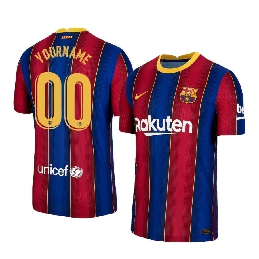 Домашняя именная футболка Барселоны 2021