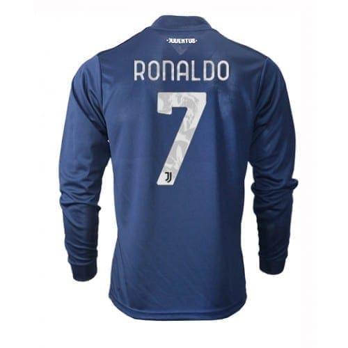 Гостевая футболка Роналдо с длинными рукавами