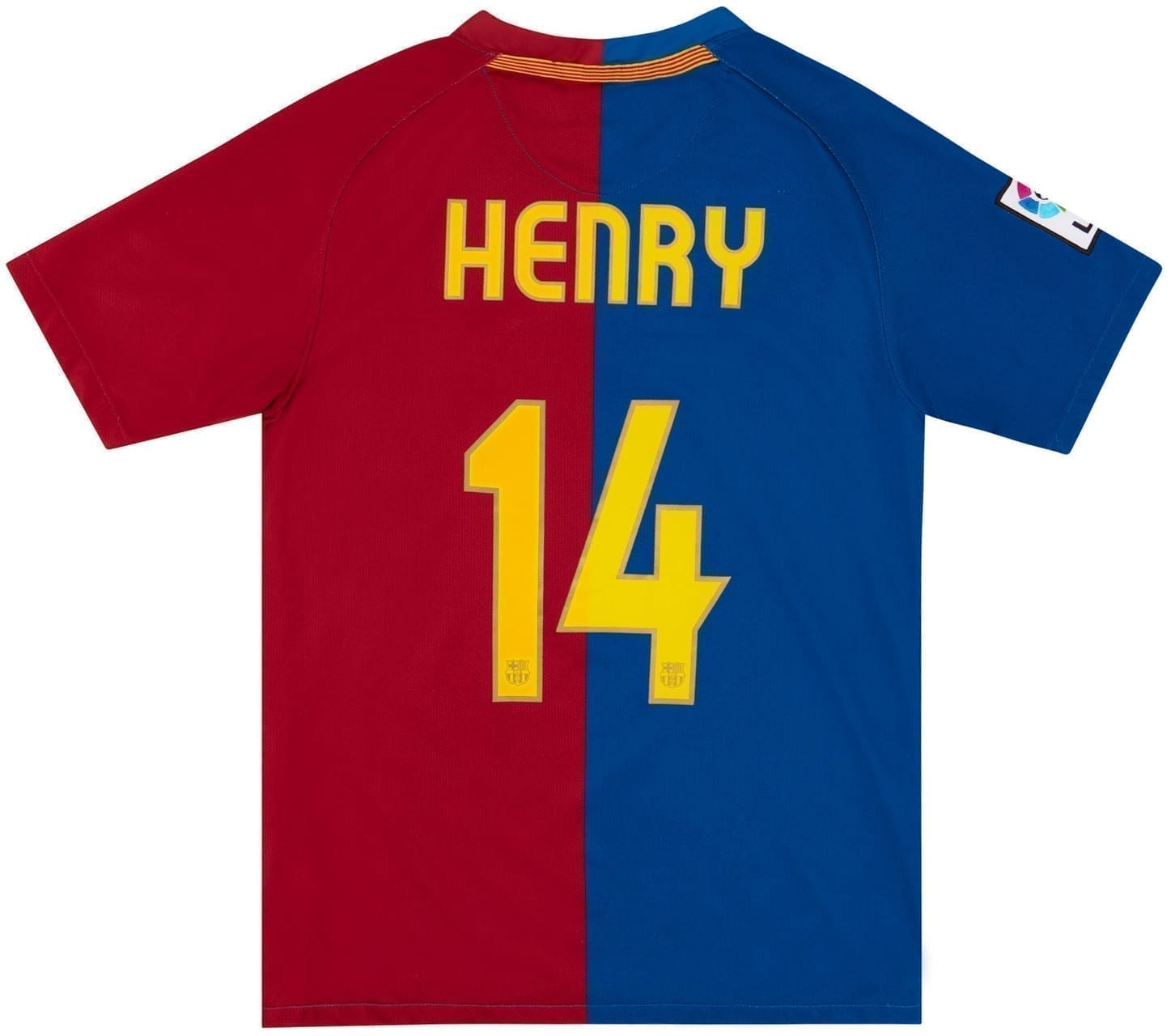 Футбольная форма Тьерри Анри Барселона