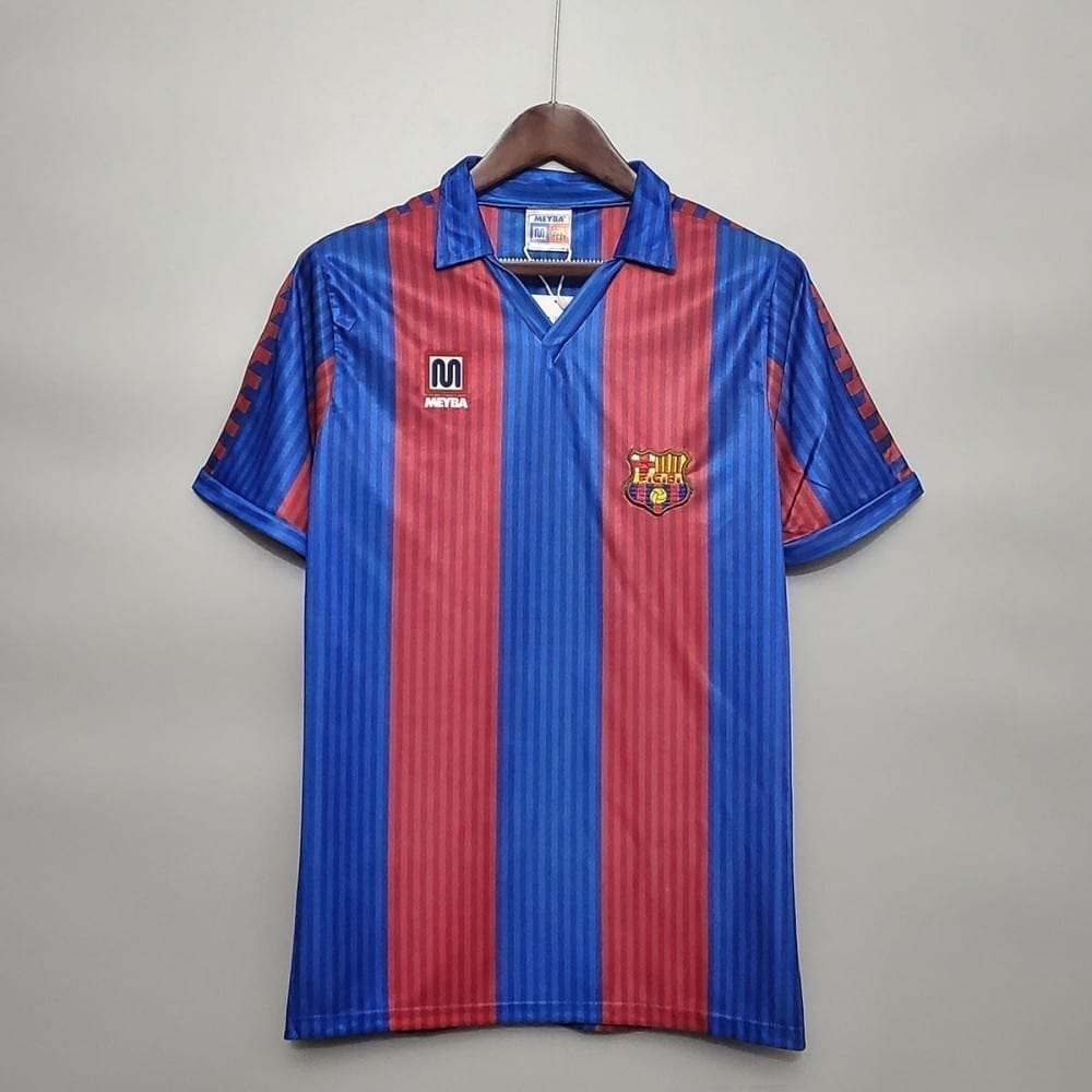 Ретро футболка Барселона 1990-1991 год