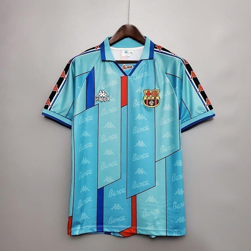 Ретро футболка Барселона выездная 1996-1997