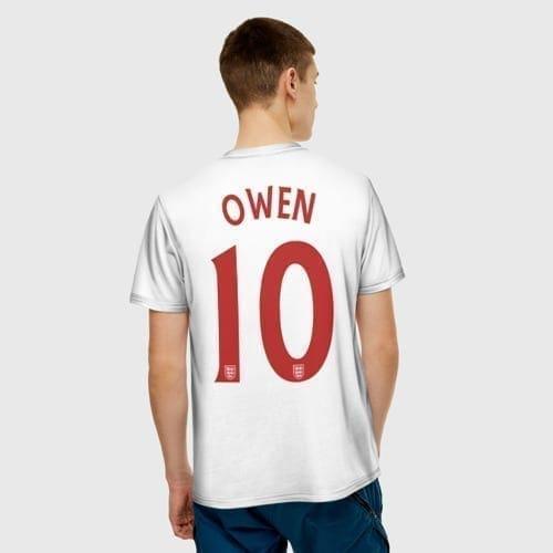 Футбольная форма Michael James Owen