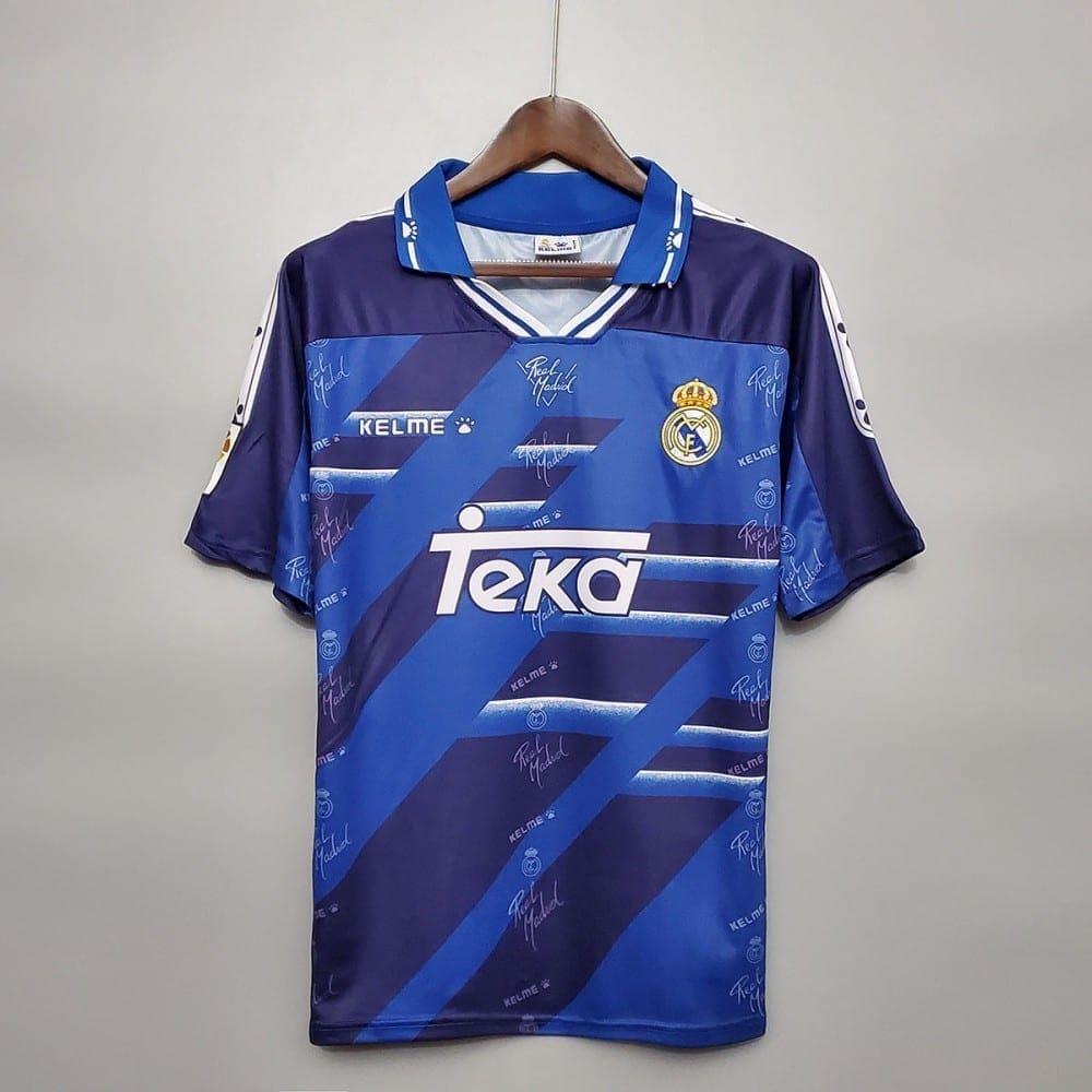 Гостевая футболка Реал Мадрид 1994-1996 год