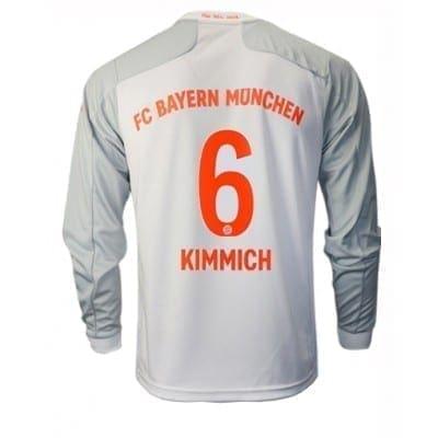 Белая футболка Баварии КиммихДлинный рукав 2020-2021