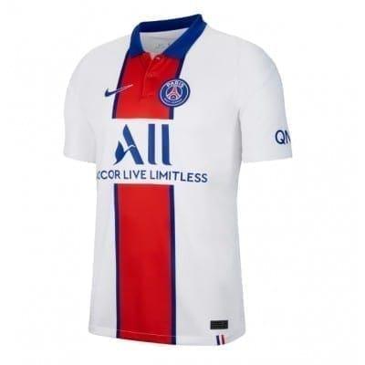 Белая футболка Маркиньос ПСЖ 2020-2021
