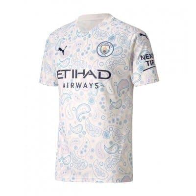 Белая футболка Стерлинг 2020-2021 Манчестер Сити
