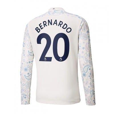 Выездная футболка Манчестер сити Бернарду Силва 2020-2021