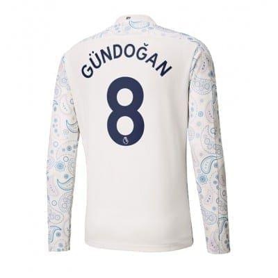 Выездная футболка Манчестер сити Гюндоган 2020-2021