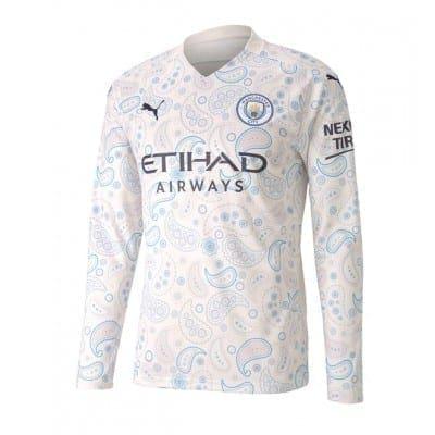 Выездная футболка Манчестер сити Стерлинг 2020-2021