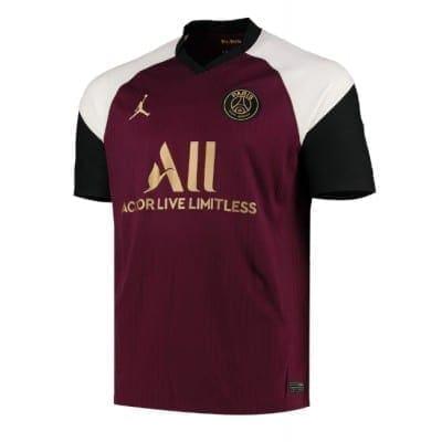 Гостевая футболка Ди Мария Пари сан Жермен 2020-2021