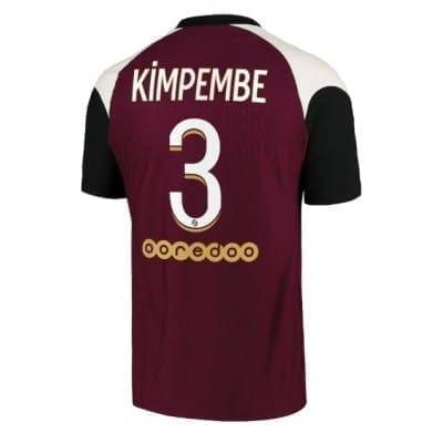 Гостевая футболка Кимпембе Пари сан Жермен 2020-2021