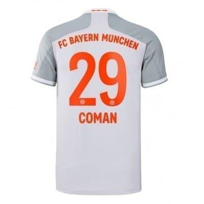 Гостевая футболка Коман Бавария Мюнхен 2020-2021