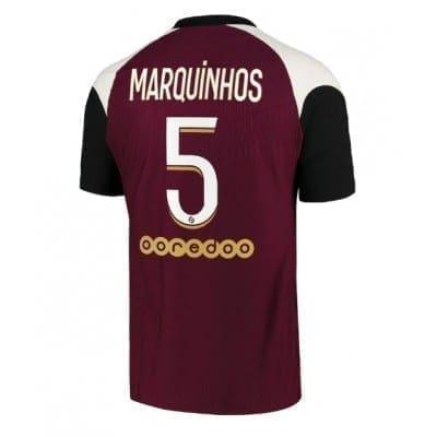 Гостевая футболка Маркиньос Пари сан Жермен 2020-2021