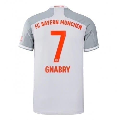 Гостевая футболка Серж Гнабри Бавария Мюнхен 2020-2021