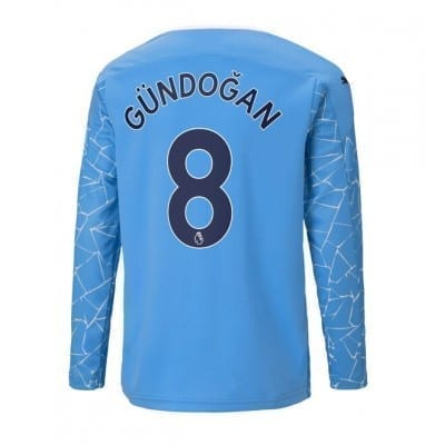 Домашняя футболка Гюндоган длинный рукав 2020-2021
