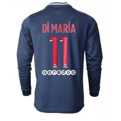 Домашняя футболка Ди Мария ПСЖ длинный рукав 2020-2021