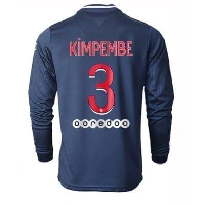 Домашняя футболка Кимпембе ПСЖ длинный рукав 2020-2021