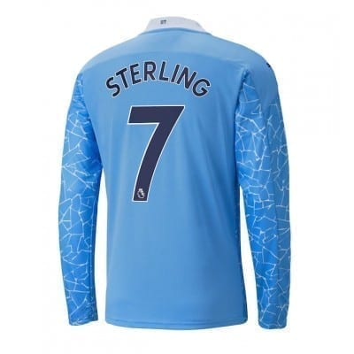 Домашняя футболка Стерлинг длинный рукав 2020-2021