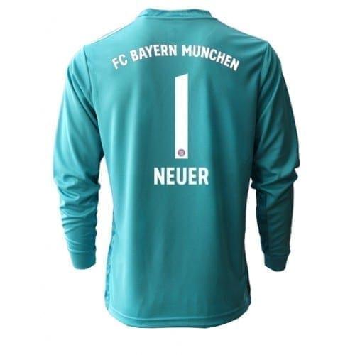 Футболка Бавария Мюнхен Вратарь Мануэль Нойер Домашняя 2021 с длинным рукавом