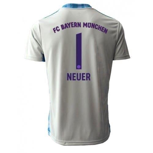 Футболка Бавария Мюнхен Нойер Запасная 2020-21 с коротким рукавом