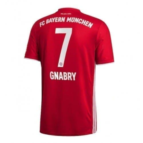 Футболка Серж Гнабри Бавария 2020-2021