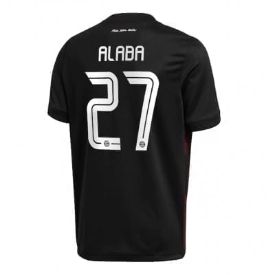 Чёрная футболка Бавария Мюнхен Алаба 2021