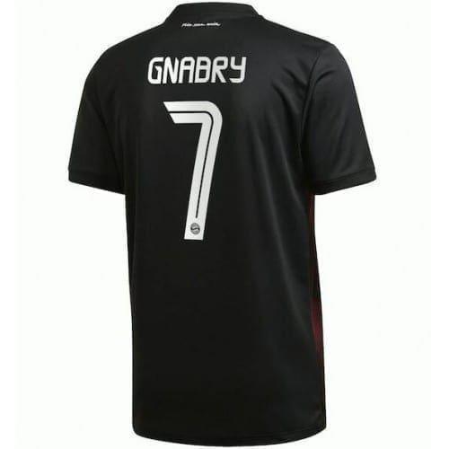 Чёрная футболка Бавария Мюнхен Серж Гнабри 2021