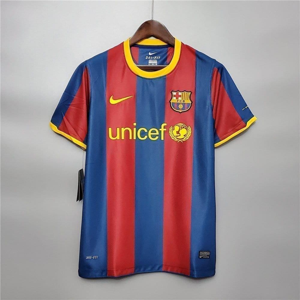 Ретро футболка Барселона домашняя 2010-2011