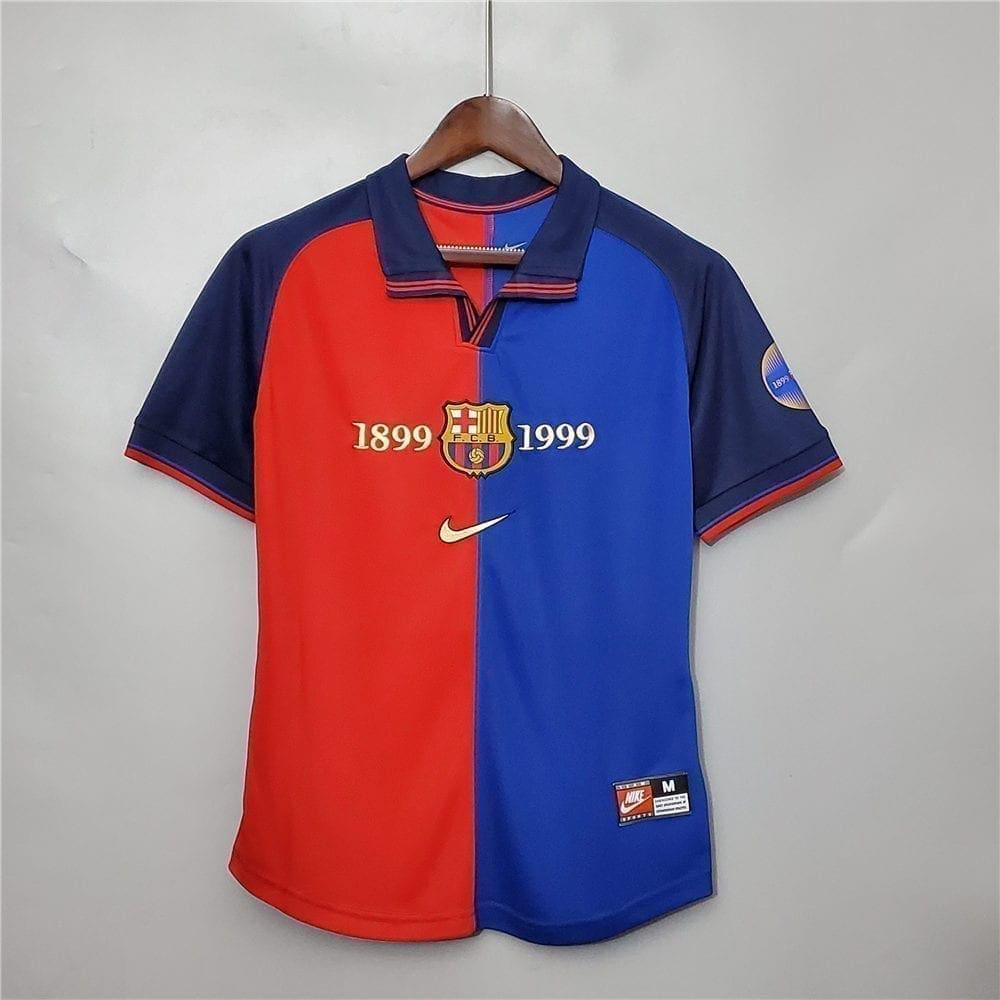 Ретро футболка Барселона 1999-2000 год