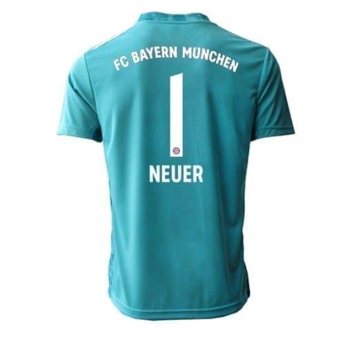 Футболка Бавария Мюнхен Нойер 2020-2021 с коротким рукавом