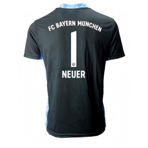 Бавария Мюнхен Вратарь Мануэль Нойер # 1 выездная форма 2020-21 с коротким рукавом