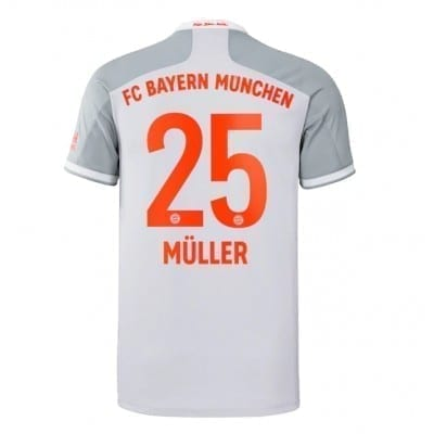 Гостевая футболка Мюллер Бавария Мюнхен 2020-2021