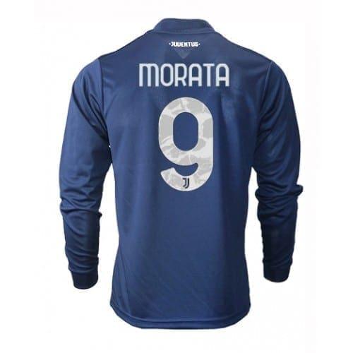 Гостевая футболка Мората Ювентус длинный рукав 2021