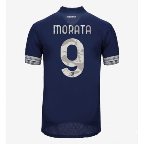 Гостевая футболка Мората Ювентус 2020-2021