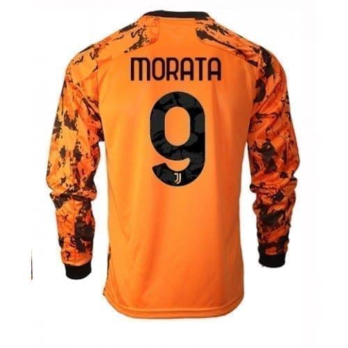 Выездная футболка Мората Ювентус длинный рукав 2021