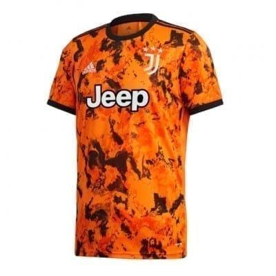 Оранжевая футболка Мората Ювентус 2020-2021 купить
