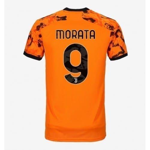 Оранжевая футболка Мората Ювентус 2020-2021