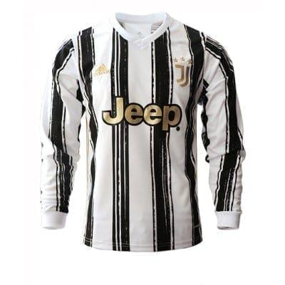 Домашняя футболка Де Лигт Ювентус длинный рукав 2021купить