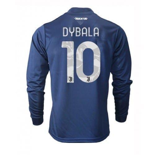Гостевая футболка Дибала Ювентус длинный рукав 2021